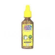 Cola C/glitter N/01 Crystal Relevo - Acrilex
