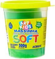 Massa De Modelar Soft 500g N/101 Verde - Acrilex