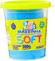 Massa De Modelar Soft 500g N/109 Azul - Acrilex