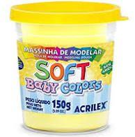 Massa De Modelar Soft 150g N/808 Amar Bb - Acrilex