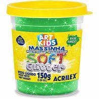 Massa De Modelar 150g N/206 Soft Glitter - Acrilex
