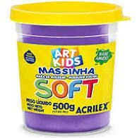 Massa De Modelar Soft 150g N/516 Violeta - Acrilex