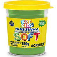 Massa De Modelar Soft 150g N/101 Verde - Acrilex