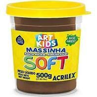 Massa De Modelar Soft 150g N/814 Chocolate-acrilex