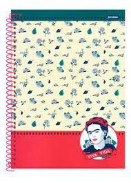Caderno Esp Univ Cd 10m 160f Frida - Jandaia