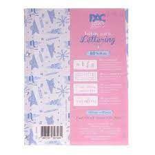 Bloco P/fichario 80f Lettering - Dac
