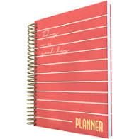 Planner Permanente 96f Vermelho - Dac