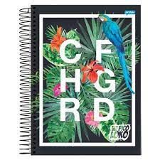 Caderno Esp Univ Cd 10m 200f You Cf Loko - Jandaia