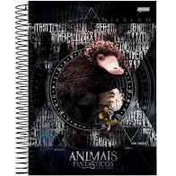 Caderno Esp Univ Cd 10m 200f Animais Fant -jandaia