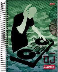 Caderno Esp Univ Cd 20m 400f Hip Hop - Jandaia