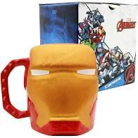 Caneca 400ml Formato 3d Iron Man - Zona