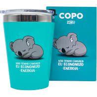 Copo Viagem Snap 300ml Coala  - Zona