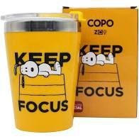 Copo Viagem Snap 300ml Snoopy Focus - Zona