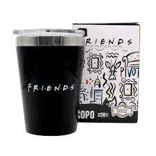 Copo Viagem Snap 300ml Friends Logo  - Zona