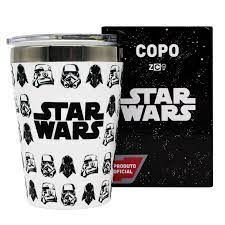 Copo Viagem Snap 300ml Stormtroopers Vader - Zona