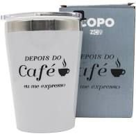 Copo Viagem Snap 300ml Cafe  - Zona