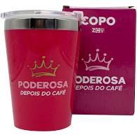 Copo Viagem Snap 300ml  Poderosa - Zona