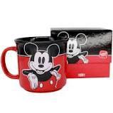 Caneca 350ml Tom Disney Mickey Xadrez - Zona