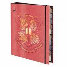 Caderno Fichario Argolado Harry Potter - Dac