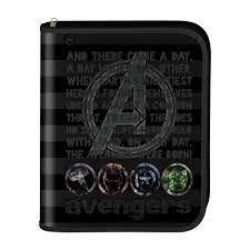 Caderno Fichario Argolado Univ Avengers - Dac