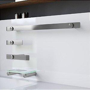 Kit Acessórios para Banheiro Aço Inox Decaluxo 103DX Grego