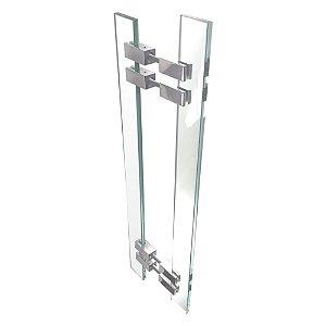 Puxador de Portas em Vidro Temperado Alto Padrão Vitrô 900VT