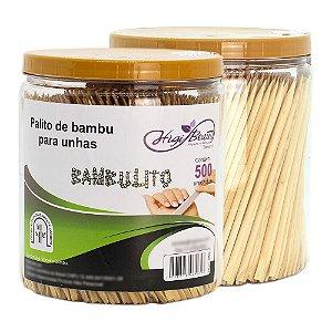 Palito para Unha - Bambu - 500 Unidades