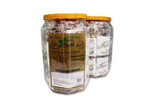 Sapatilha com creme emoliente - Vegano - 50 pares