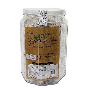 Luva com Creme Emoliente - Vegano - 50 Pares