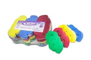 Separador de dedos Manicure e Pedicure - 12 unidades