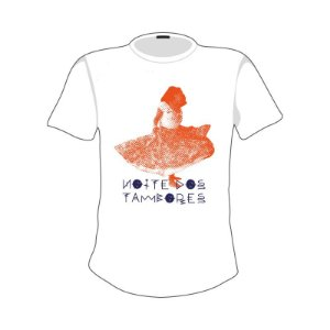 Camiseta estampa Dança