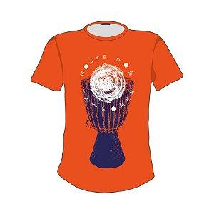 Camiseta estampa Tambor