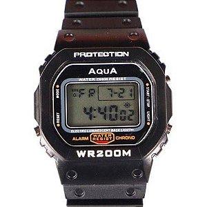 Relógio Aqua Protection GP519 Masculino Prova D'água