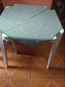 Locação de Cobre Mancha xadrez Verde 70x70cm