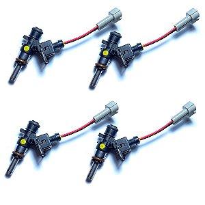 Jogo de injetores MPI Bosch 980cc Etanol e Gasolina E85 + Plug VW