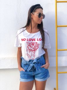 Tee No Love Lost - Branca