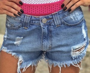 Shorts Destroyed - Jeans