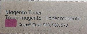 TONER XEROX 550,560,570 MAGENTA - 006R01531