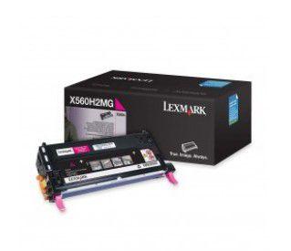 Cartucho de Toner Lexmark X560 Magenta - X560H2MG