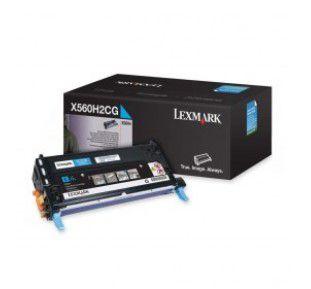 Cartucho de Toner Lexmark Ciano - X560H2CG