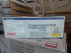 Cartucho de toner Amarelo 10k C7300n/C7350n/C75 - 41963001 (VENCIDO)