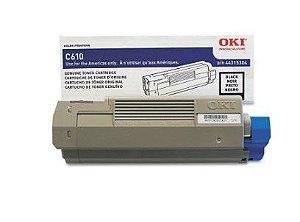 TONER OKI C610 PRETO - 44315304 (VENCIDO)