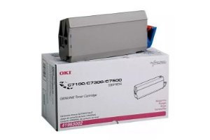 Cartucho de toner Magenta 10k OKI - C7300/C7500 - 41963002 (VENCIDO)