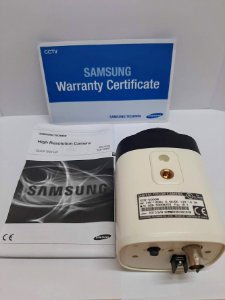 Câmera Cftv Profissional Samsung Scb 5000 N Analog Box 1/3 1.3mp 1000tvl
