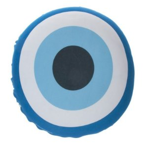Almofada Redonda Olho Grego Única