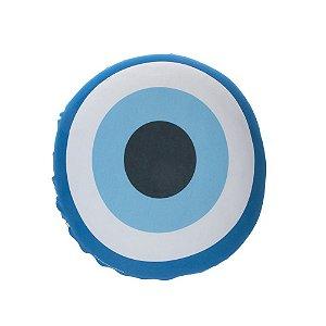 Almofada Redonda Olho Grego Unica