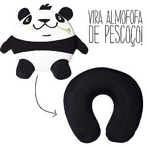 Almofada De Pescoço Para Viagem - Almofofa Metamorfose Panda