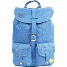 Mochila Capricho Love - Azul