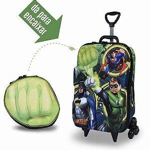 Mochila  3d Max Toy Liga Justiça Lanterna Verde