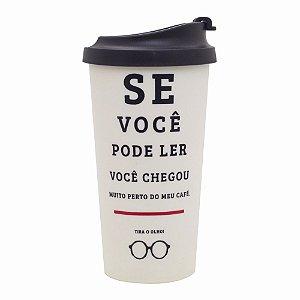 Copo Térmico Viagem De Olho No Café - Uatt